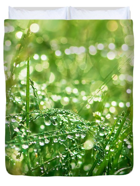 Summer Morning Duvet Cover by Mircea Costina Photography