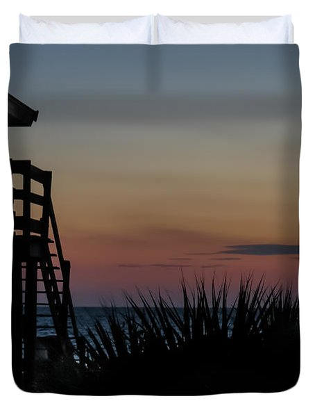 Sunset Duvet Cover by Jane Luxton