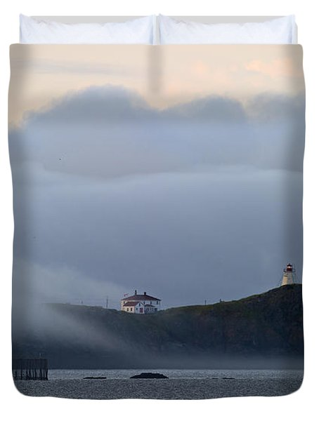 Swallowtail Lighthouse... Duvet Cover