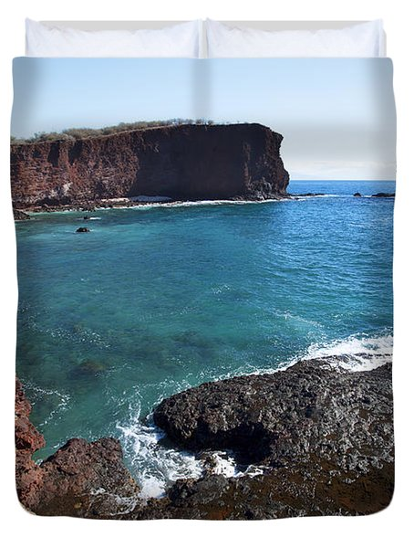 Sweetheart Rock Duvet Cover by Jenna Szerlag