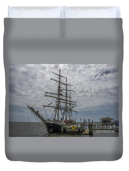 Tall Ship Gunilla Duvet Cover by Dale Powell
