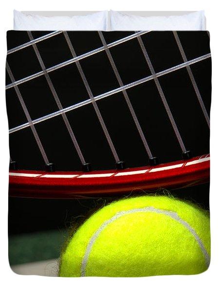 Tennis Ball Duvet Cover