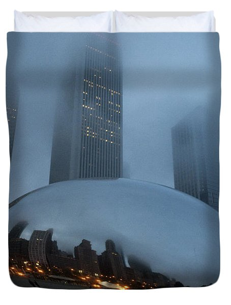 The Bean And Fog Duvet Cover