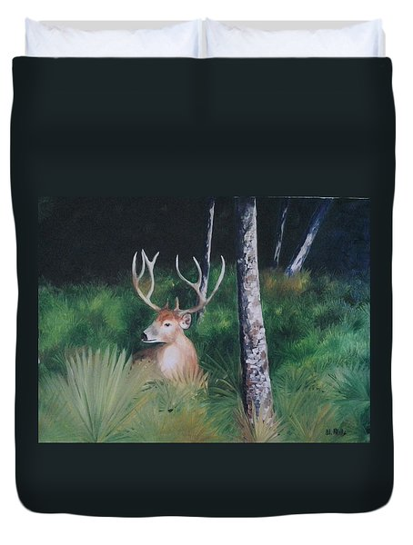 The Buck Duvet Cover