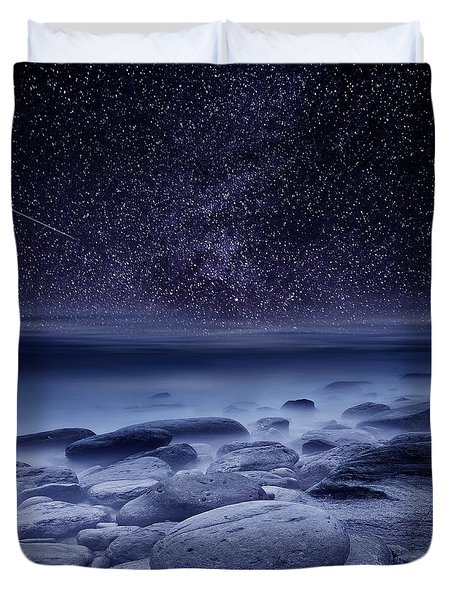 The Cosmos Duvet Cover
