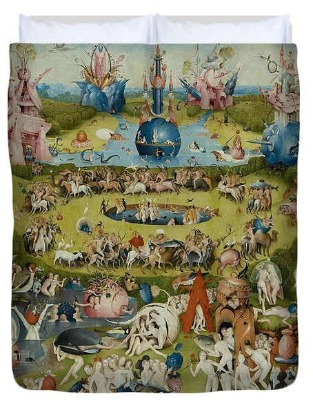 The Garden Of Earthly Delights Duvet Cover