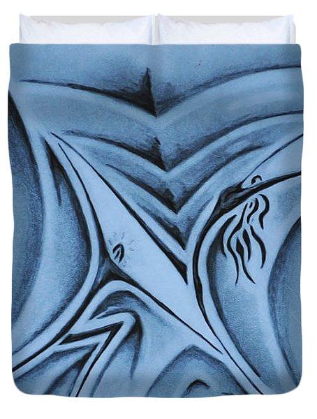The Lift Duvet Cover by Matthew Blum