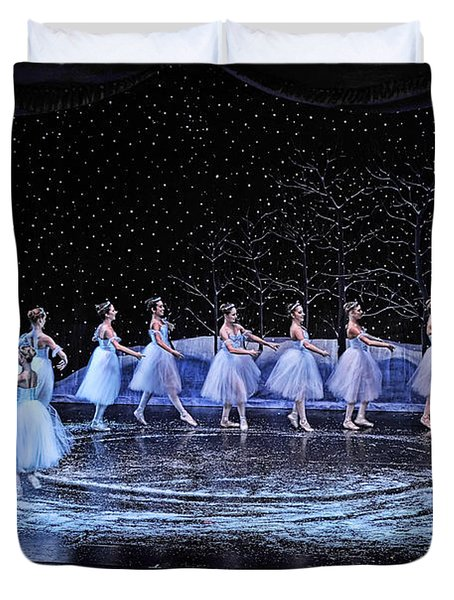 Duvet Cover featuring the photograph The Nutcracker by Bill Howard
