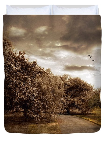 The Orchard Duvet Cover