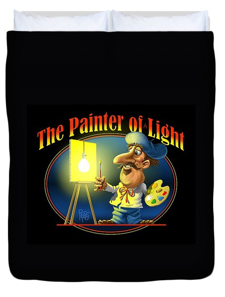The Painter Of Light Duvet Cover by Scott Ross