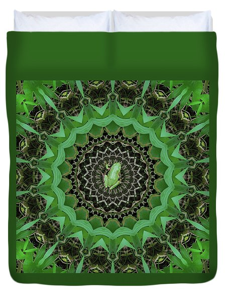 Duvet Cover featuring the photograph The Rains Have Come by I'ina Van Lawick