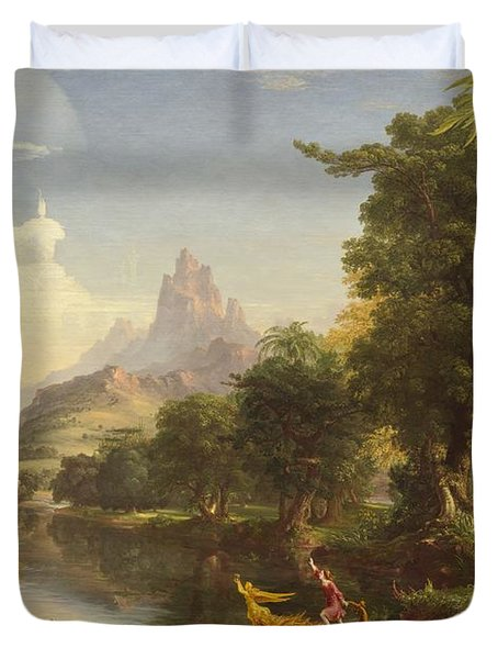 The Voyage Of Life Youth Duvet Cover