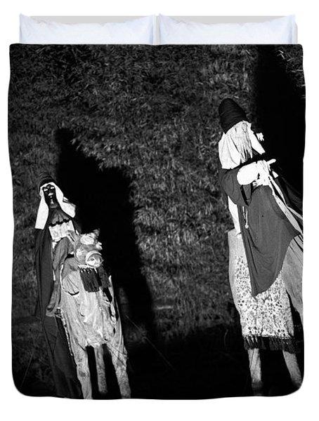 Three Wise Men Duvet Cover by Gaspar Avila