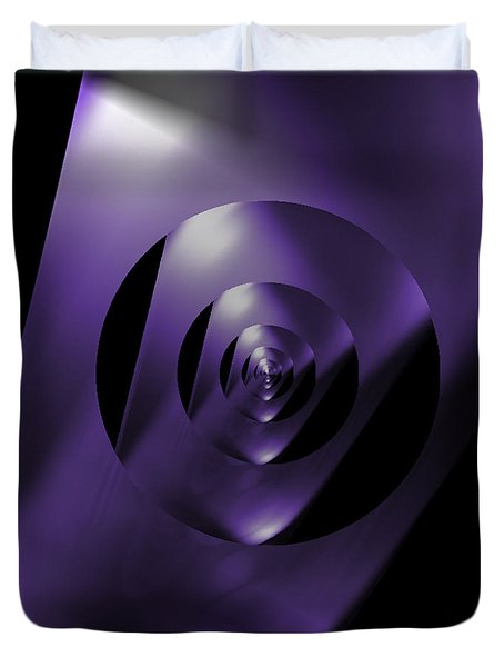 Through The Looking Glass Duvet Cover by Luther Fine Art