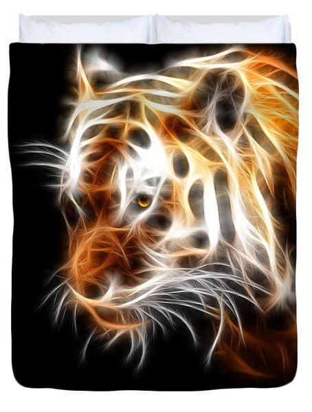 Tiger  Duvet Cover by Mark Ashkenazi