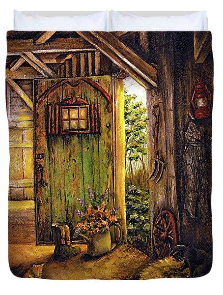 Timeless Duvet Cover by Linda Simon