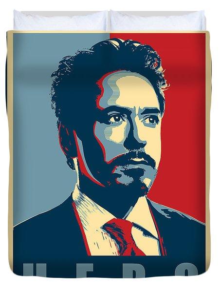 Tony Stark Duvet Cover