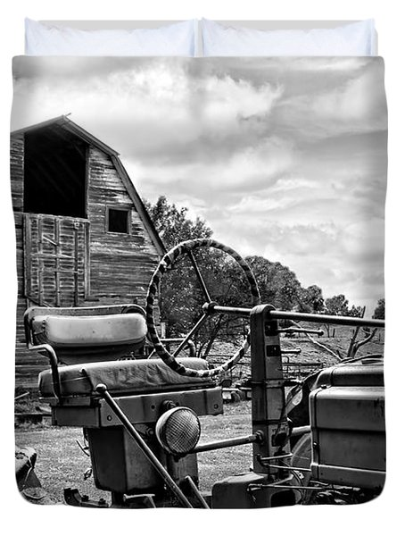 Tractor Barn Duvet Cover