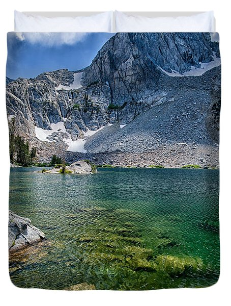 Treasure Lakes Duvet Cover