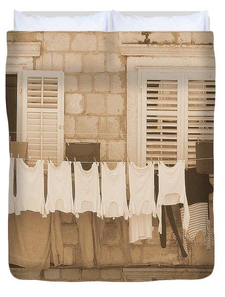 Tuscan Laundry Duvet Cover
