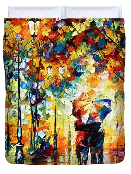 Under One Umbrella Duvet Cover