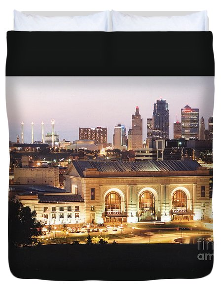 Union Station Evening Duvet Cover