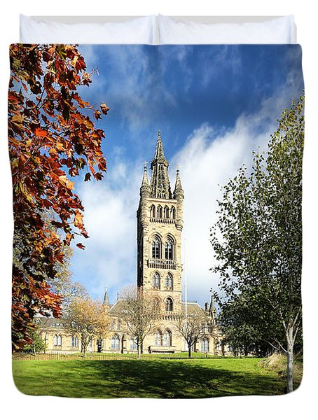 University Of Glasgow Duvet Cover