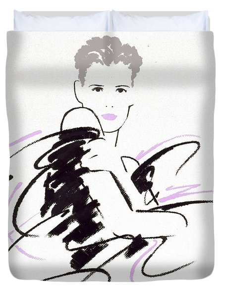 Untitled Duvet Cover by Giannelli