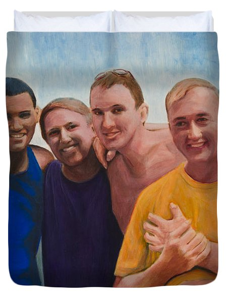 Us Guys Duvet Cover