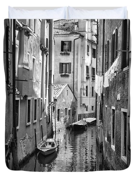 Venetian Alleyway Duvet Cover