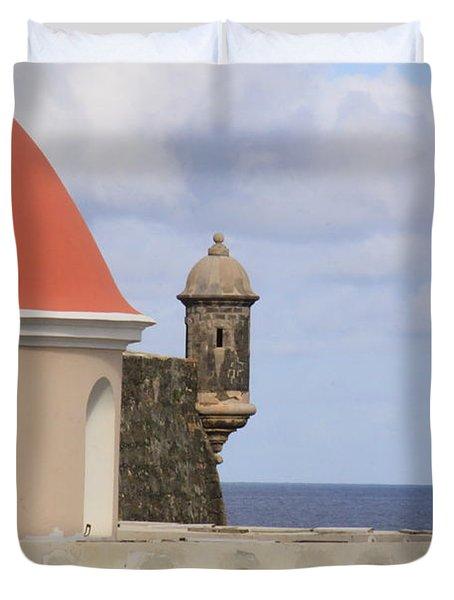 Viejo San Juan Duvet Cover
