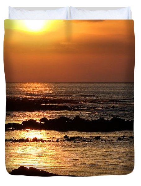 Waikoloa Sunset Duvet Cover