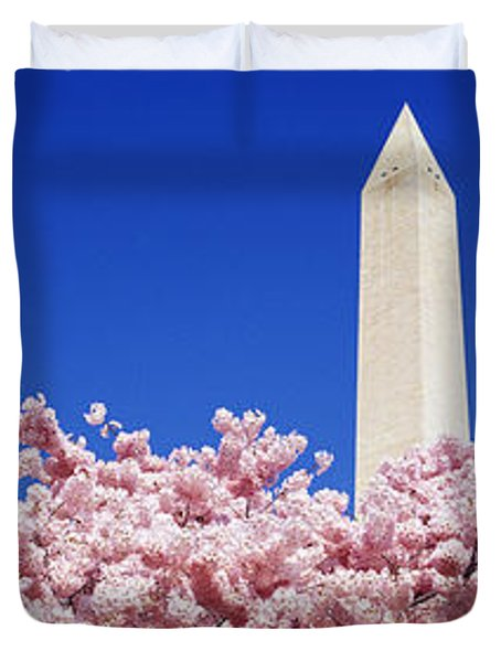 Washington Monument Washington Dc Duvet Cover
