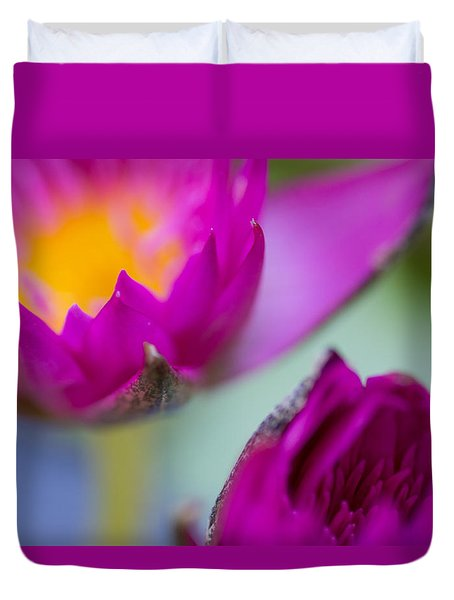 Waterlily Dream Duvet Cover
