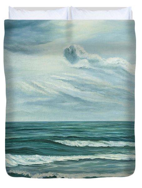 Waving Sea Duvet Cover