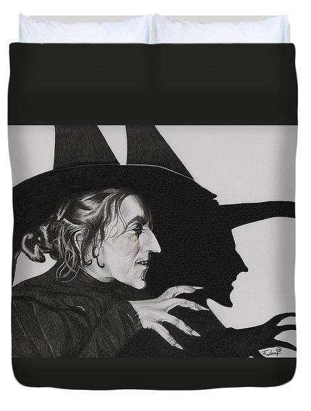 Wicked Witch Of The West Duvet Cover