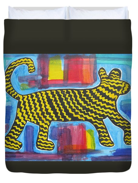 Wild Cat Duvet Cover