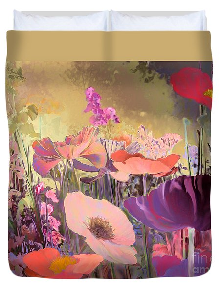 Wild Garden Duvet Cover by Ursula Freer