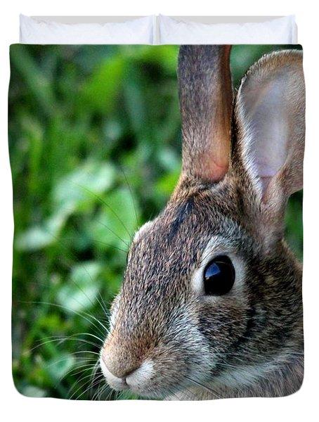 Wild Rabbit Duvet Cover by J McCombie