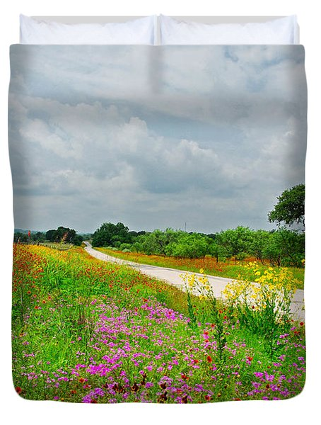 Wildflower Wonderland Duvet Cover
