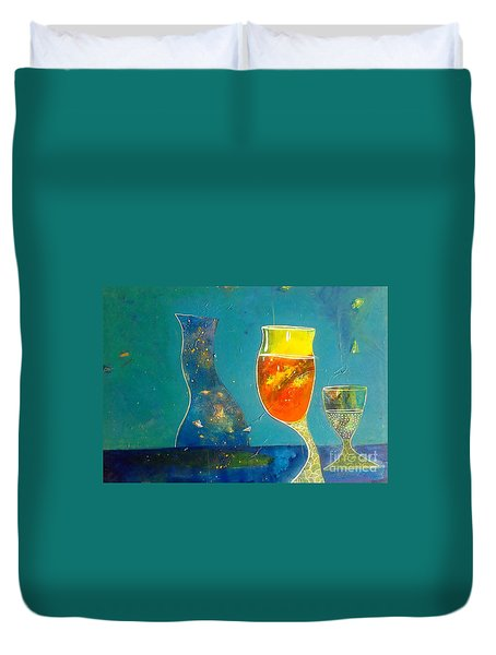 wine series II Duvet Cover