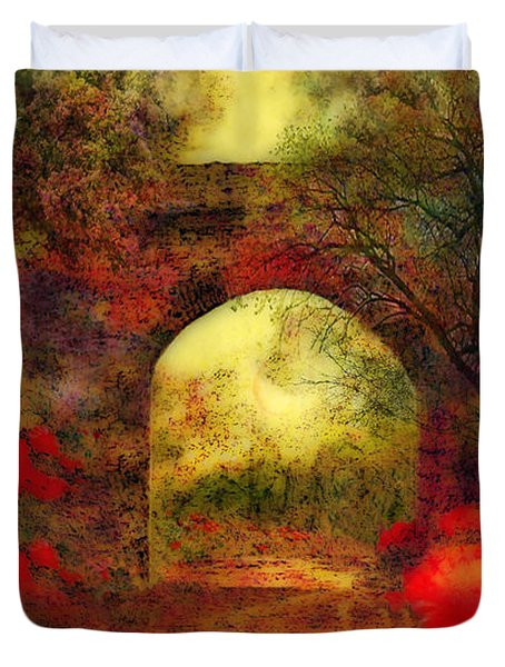 Ye Olde Railway Bridge Duvet Cover