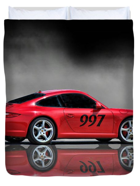 2009 Porsche Carrera Duvet Cover