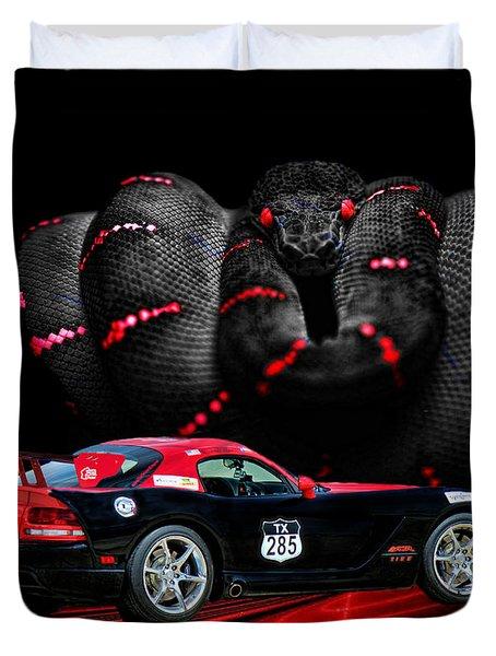 2010 Dodge Viper Duvet Cover