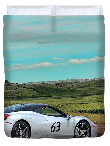 2010 Ferrari Duvet Cover