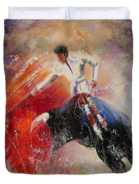 2010 Toro Acrylics 05 Duvet Cover by Miki De Goodaboom