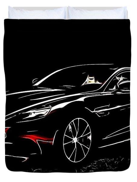 2013 Aston Martin Vanquish Duvet Cover