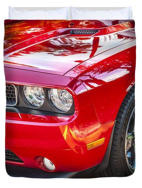 2013 Dodge Challenger Duvet Cover