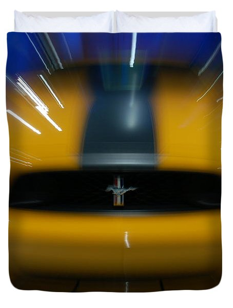 2013 Ford Mustang Duvet Cover by Randy J Heath