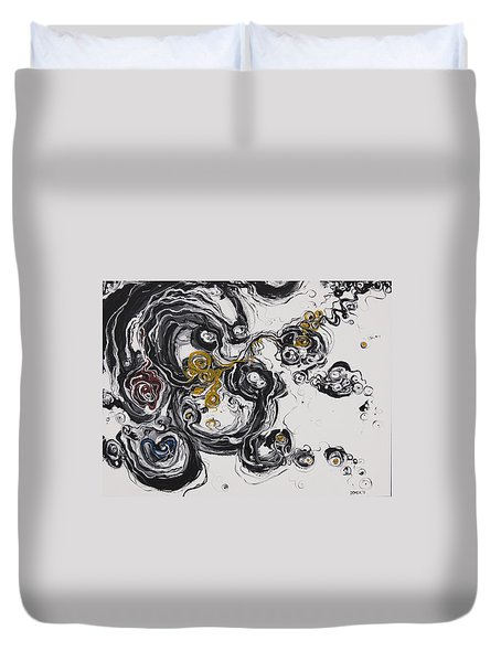 2013_addiction Duvet Cover by Ted Domek